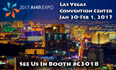 2017 AHR EXPO - Booth #C3018